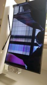 "Samsung 55"" curve *broke needs repaired **"