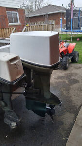 1975 Johnson Outboard 85 HP *Running Last Year No Spark*