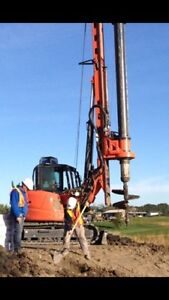 Residential / Commercial Pile drilling (track machines) Edmonton Edmonton Area image 8