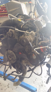 LB7 DURAMAX ENGINE, HARNESS, COMPUTER 200K