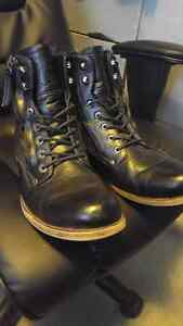 JackThreads Black Leather Boots
