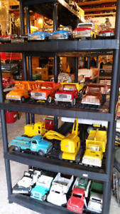 PRESSED STEEL TOY TRUCKS