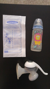 Breast Pump, Bottle and Milk Bags