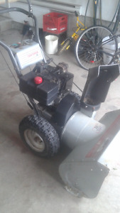 souffleuse snowblower craftsman 10hp 29