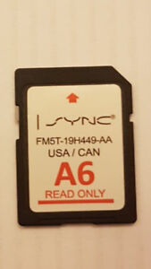 A6 Ford cars i-sync GPS sd card
