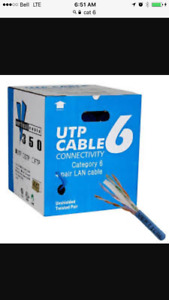 Cat 6 network cable.