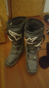 alpinestar tech 3 size 9 dirtbike boots