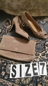 Brown Set  size 7 , wear only 1 time , too small $10