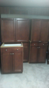 Kitchen Cabinets - Red Maple