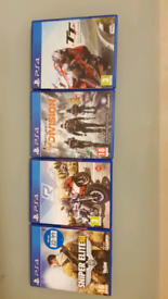Ps4 games, collection or free postage.