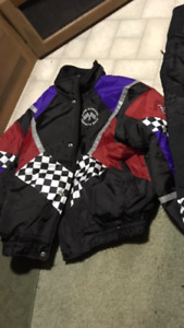 Vintage snowmobile jacket / Made in Canada / Size large