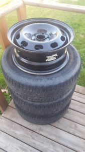 5x100 wheels and tires