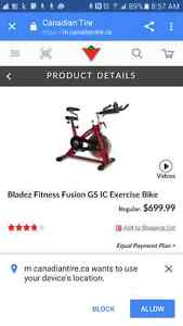 Bladez Fitness Stationary Bike Sarnia Sarnia Area image 1
