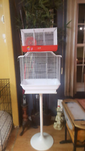 Bird and hamster cage