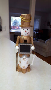 3 New Snowman Nutcracker count down to Christmas