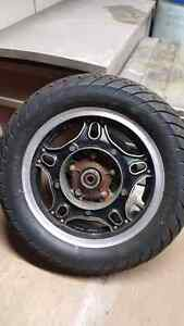 Goldwing gl1100 or cb900 rear wheel in mint condition