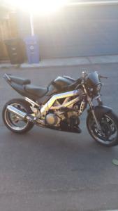 2004 sv1000 custom for trade