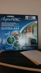 Aqua vac fish tank hose vaccum
