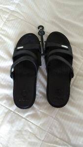 Crocs sandales noires