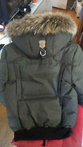 (Brand new) MACKAGE DIXON HIP LENGTH WINTER DOWN PARKA WITH FUR