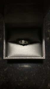 Promise rings **worn only a few times**