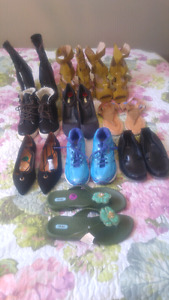 Huge lot brand new shoes assorted sizes