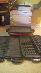 George Foreman with removeable plates (OBO)