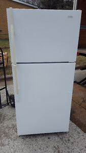Fridge  and ceramic top stove  300.00, works well, Delivery avai