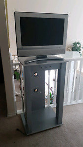 Sharp tv and stand for sale