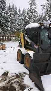 Residential snow plowing fair rates serving the west side of Pg Prince George British Columbia image 2