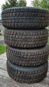 4 Artic claw studed winter tires