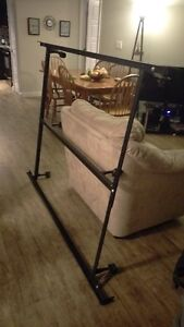 ADJUSTABLE LIKE NEW METAL BED FRAME ROLLERS