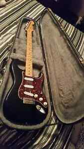 Fender Mexican Stratocaster with amp