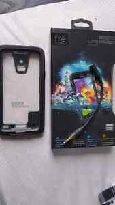 Galaxy s5 lifeproof water proof case $50
