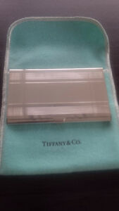 Tiffany sterling silver card hold