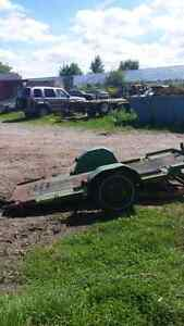 14 FOOT TRAILER.  ROLL ON $400 OBO Cambridge Kitchener Area image 2