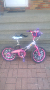"16"" girls bike ""tinker bell"""