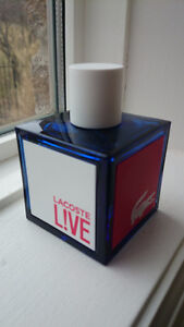 NEW LACOSTE Live 100 ml EDT Spray for MEN No Box - 2 available
