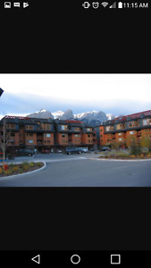 Downtown canmore condo for rent