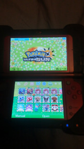 Modded New Nintendo 3DS XL with 64 GB sd card $200