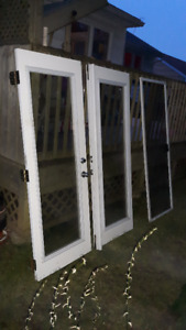 Garden patio door and 3 windows