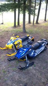2011 Skidoo MXZ sport. Low miles.  EUC