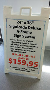 """24"""" x 36"""" Signicade Deluxe A-Frame Signs"""
