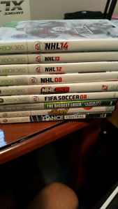 Newest Xbox 360 edition with Kinect and games