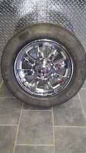 "20 "" eagle alloys  with michilins"