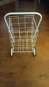 Quality White Newspaper/ Grocery Cart London Ontario image 2