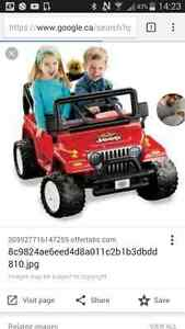 Kids jeep working condition