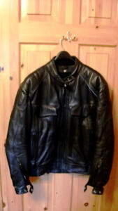 High quality First Gear leather motorcycle jacket