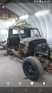 1953 Chevrolet pick up project