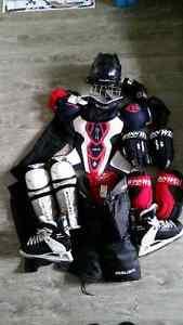 Équipement de hockey complet junior L-XL